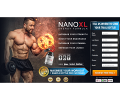 What are the ingredients used in Nano XL Energy ?