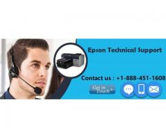 Epson Printer Tech Support Phone Number +1-888-451-1608
