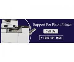 Ricoh Printer Technical Support Phone Number +1-888-451-1608